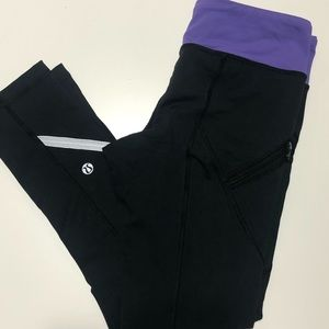 Lululemon Cropped Leggings Size 4
